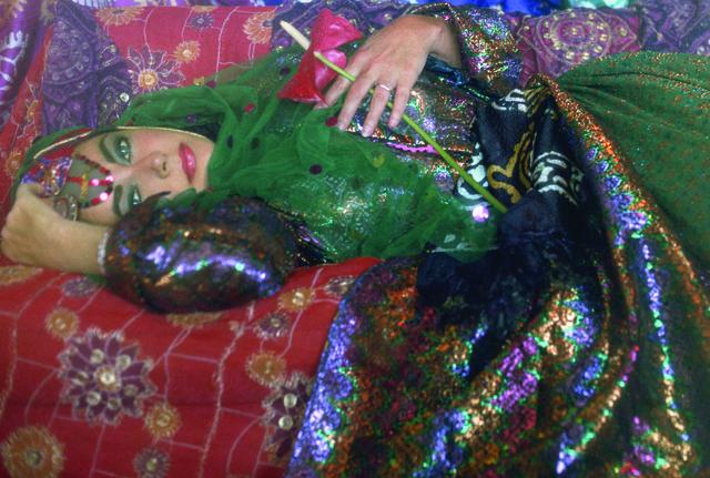 , 'Elizabeth Taylor Dressed as an Odalisque I,' 2011, Leila Heller Gallery