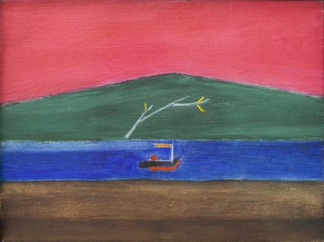 , 'Scottish Landscape (Aran),' 1993, Browse & Darby