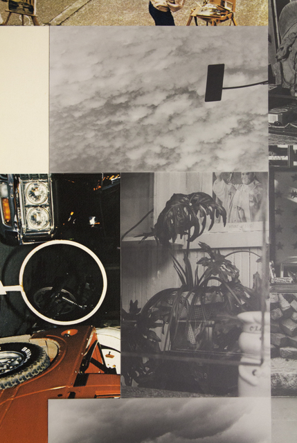 Robert Rauschenberg, 'Untitled', 1984, Print, Silkscreen with fabric and photo collage on hand-cut paper, MOCA