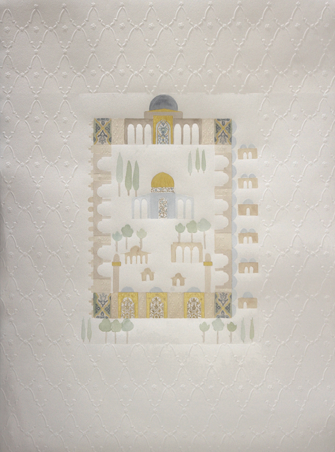 , 'Al Aqsa Mosque an Old Manuscript,' 2017, Hafez Gallery