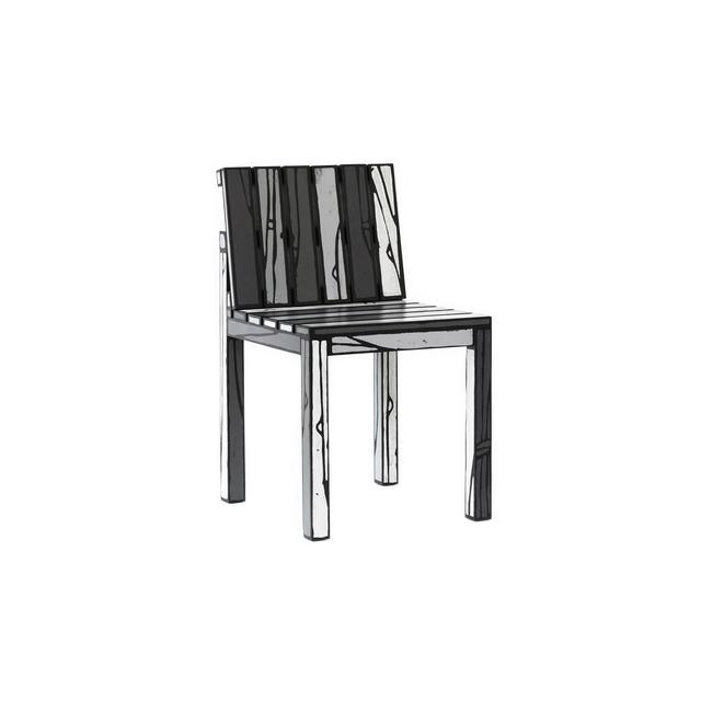 , 'Logo Chair Grey,' 2013, Galerie VIVID