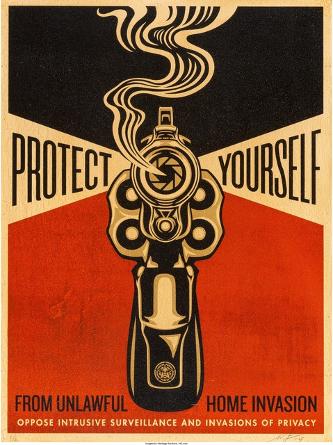 Shepard Fairey (OBEY), 'Home Invasion', Heritage Auctions
