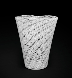 A zanfirico glass vase model 3665