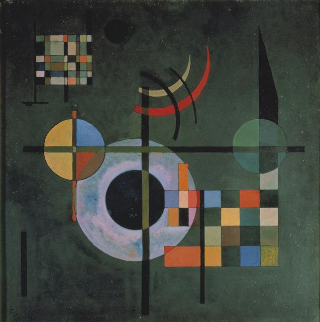 Wassily Kandinsky, 'Counter weights (Gegengewichte)', 1926, Painting, Oil on canvas, Art Resource