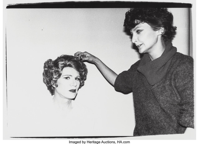 Andy Warhol, 'Andy Warhol in Drag', 1980, Heritage Auctions