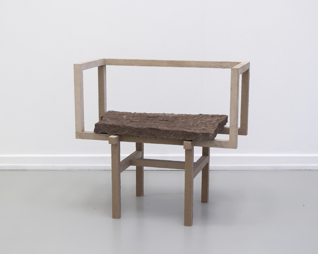 , 'Stoned Chair 1,' 2015, Etage Projects