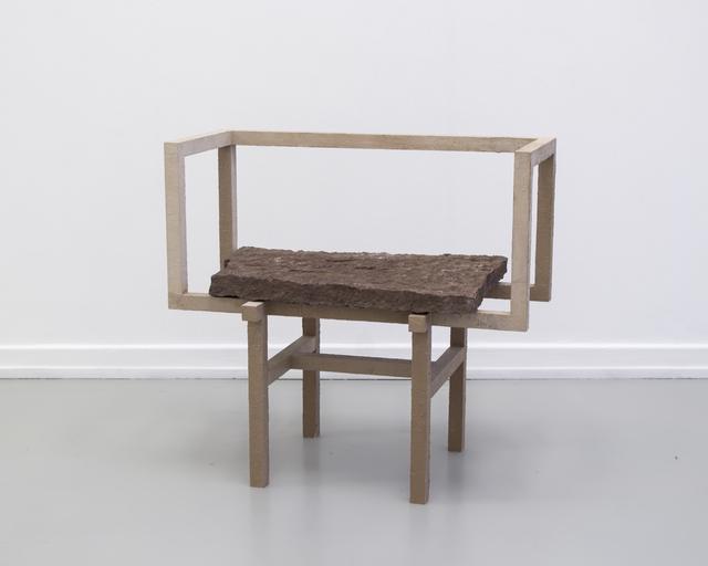 Fredrik Paulsen, 'Stoned Chair 1', 2015, Etage Projects