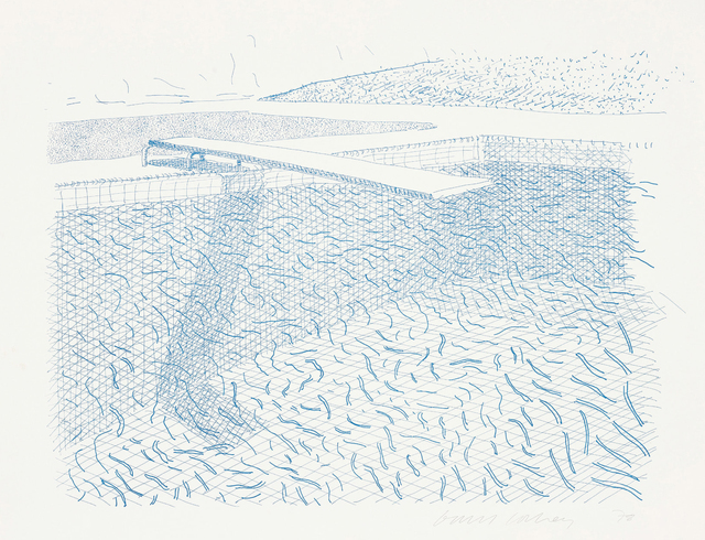 , 'Lithographic Water Made of Lines ,' 1978, Susan Sheehan Gallery