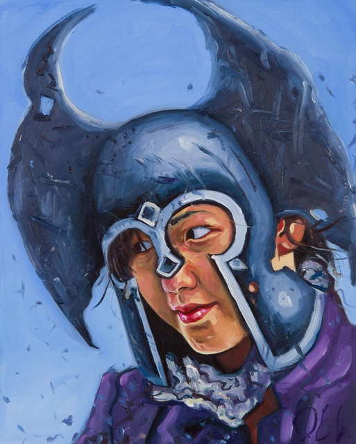 Paul Endres Jr., 'The Angel of War', 2014, Painting, Oil on panel, Childs Gallery