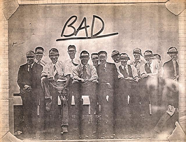 Jean-Michel Basquiat, 'Basquiat (untitled) 'Bad' xerox (Basquiat Man Made) ', 1980, Lot 180
