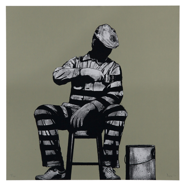 , 'Prison Painter,' 2010, Addicted Art Gallery