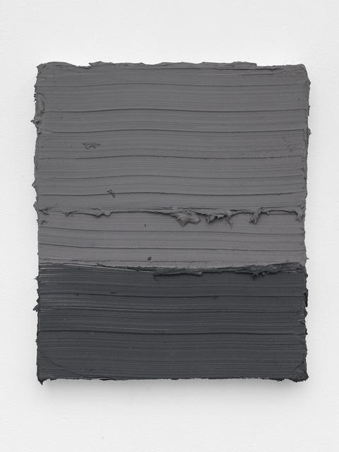 , 'Untitled (Schevingen Warm Grey / Graphite Grey Dark),' 2018, Patrick De Brock Gallery