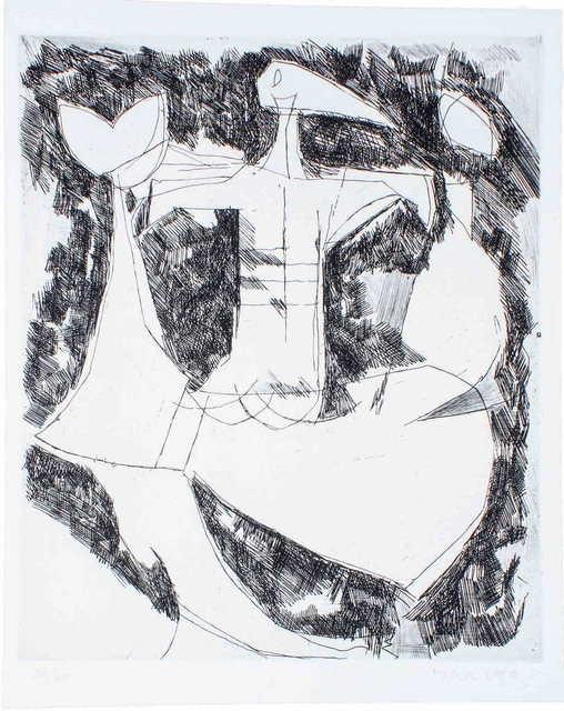 , 'Composition - I,' 1956, Wallector