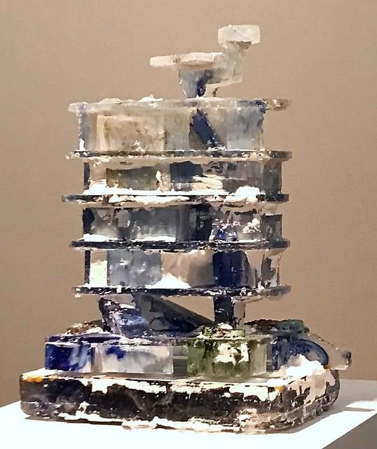 , 'Delft's Black/Blue,' 2018, Galerie Fontana
