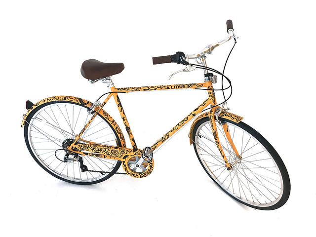 , 'Custom painted Linus Rambler 7 Bicycle,' 2017, Chainlink Gallery