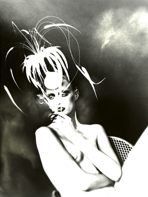, 'Kronung Des Chic, Model Unknown, Hat by Philipp Treacy, Vogue Germany (Untitled 151),' 1998, Edwynn Houk Gallery
