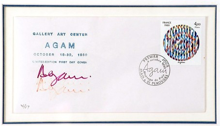 """""""Life"""", Limited Edition signed First Day Cover"""