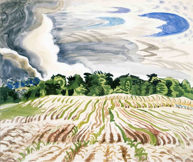 , 'Clearing Sky,' 1917, Montclair Art Museum