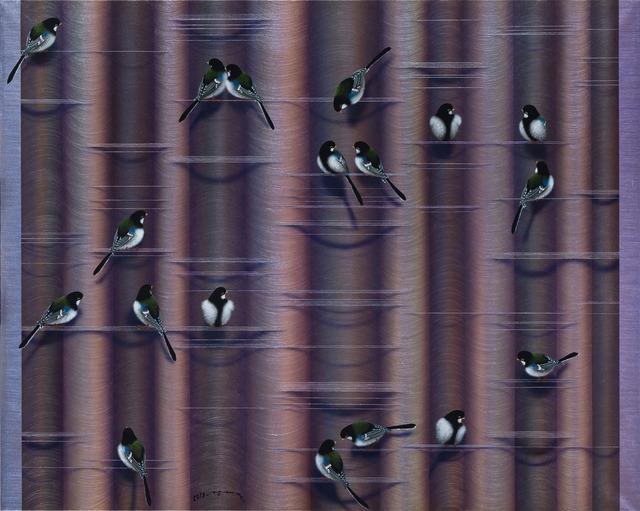 Hai Yun Jung, 'Plan B', 2019, Painting, Acrylic on thick mulberry paper, Gana Art