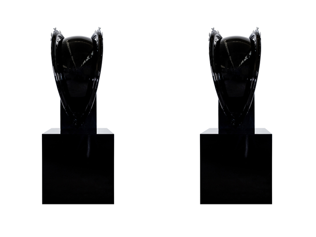 Zhang Ding, 'Black Guardians', 2014, Galerie Krinzinger