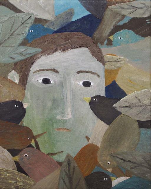 , 'Man Between The Birds,' 2018, Galerie Bart