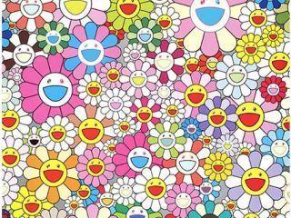 Takashi Murakami, 'Flower Smile', Print, Digital Print, Ode to Art