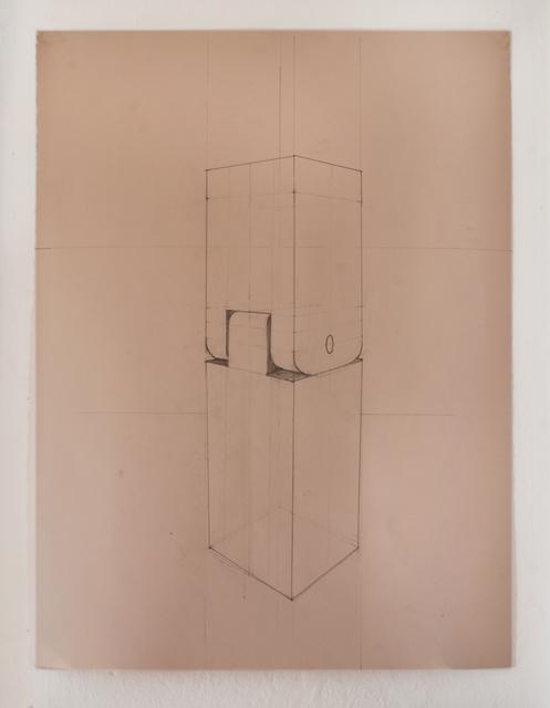 , 'Pinocchio Leg (Plan),' 2015, Galleri Urbane