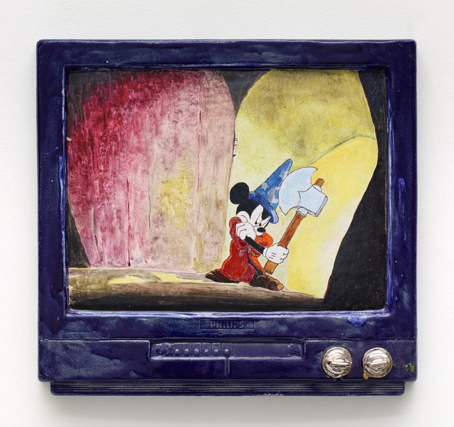 , 'Mickey Mouse Fantasia #5,' 2017, Diane Rosenstein