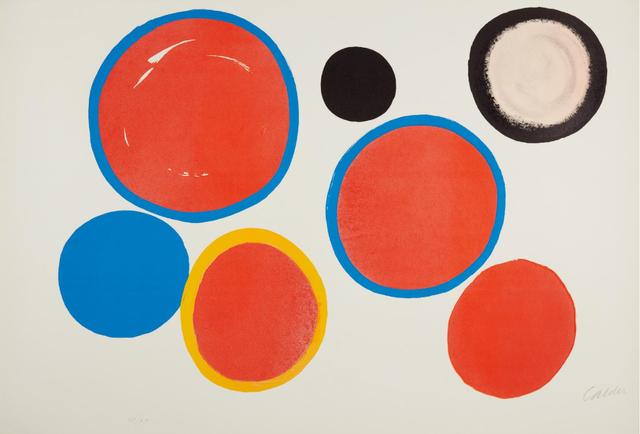 Alexander Calder, 'Cibles Variables', 1969, Nikola Rukaj Gallery