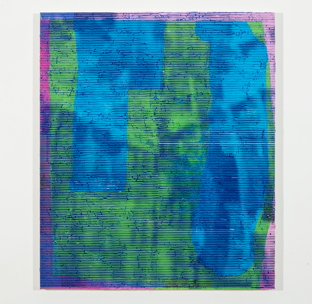 , 'Blue-Green,' 2017, Barry Whistler Gallery