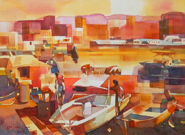 , '#1 Fishing Boats,' 2013, Affinity ART