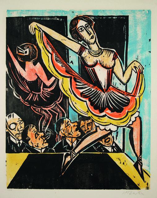 , 'Tänzerin im Spiegel,' 1923, Henze & Ketterer