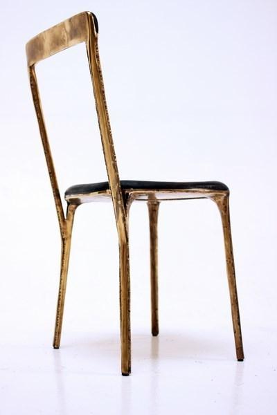 """, 'Chair - """"Brass"""" collection,' 2017, Galerie Gosserez"""