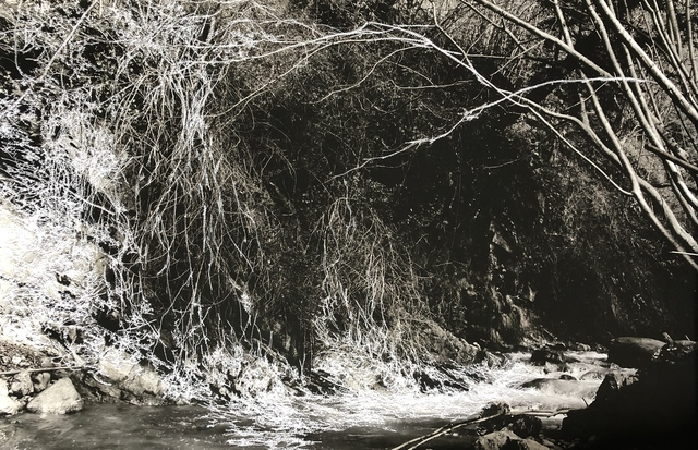 , 'Embroidered landscape #2,' 2018, Galerie Céline Moine & LGFA