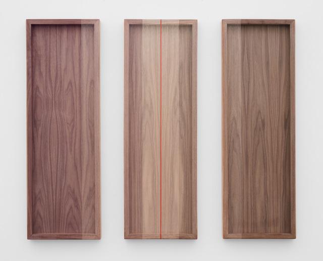 , 'Untitled (Purple, Silver, Blue/Green),' 2018, PRAZ-DELAVALLADE