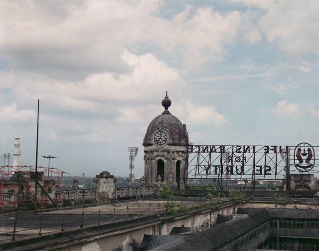 Hannah Collins, 'Life on Film (rooftop with clock) ', 1999-2013, Javier Lopez & Fer Frances