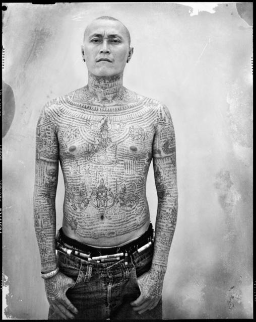 , 'Yantra the sacred ink, Portrait 14 (Market Trader),' 2013, Galerie Olivier Waltman | Waltman Ortega Fine Art