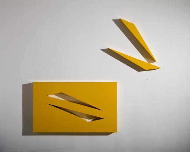 Lori Cozen-Geller, 'Flight', 2012, Sculpture, Automotive paint on wood and laminate, Jonathan Ferrara Gallery