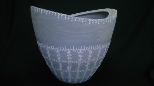 , 'Blue Bizen Vase,' 2014, Onishi Gallery