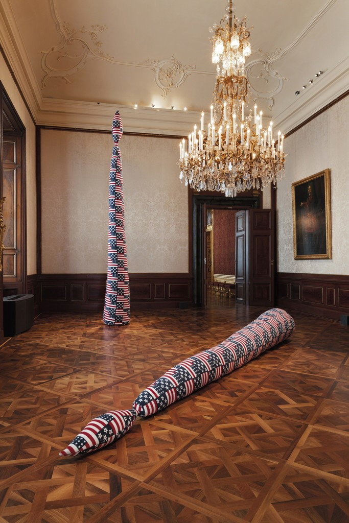 "Installation View ""Sterling Ruby"", 2016, Winterpalais