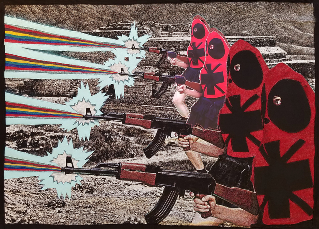 , 'Cathara Insurgents Defending Autonomous Liberated Territory,' 2016, Roman Fine Art