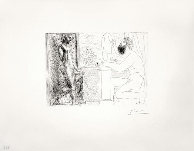 Pablo Picasso, 'Sculpteur travaillant sur le Motif avec Marie-Thérèse posant (S.V. 59)', 1933 (March 31-Paris), John Szoke