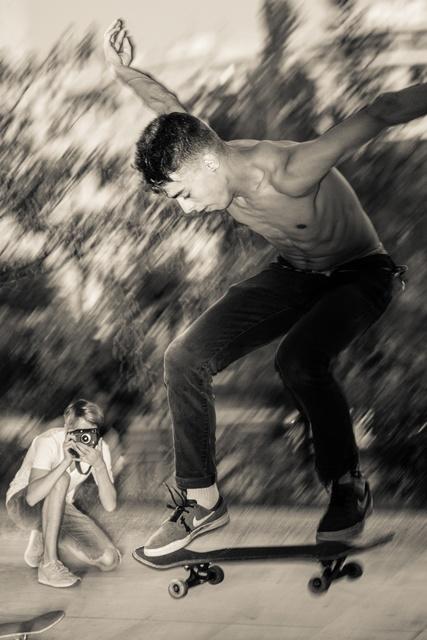 , 'Greek Skaters,  Athens Greece,' 2017, AMP: Art Market Provincetown