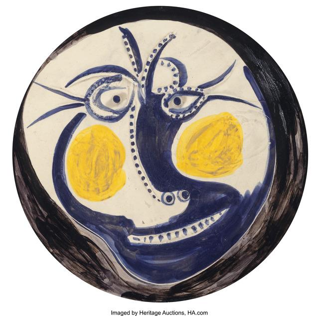 Pablo Picasso, 'Visage (Face)', 1960, Heritage Auctions