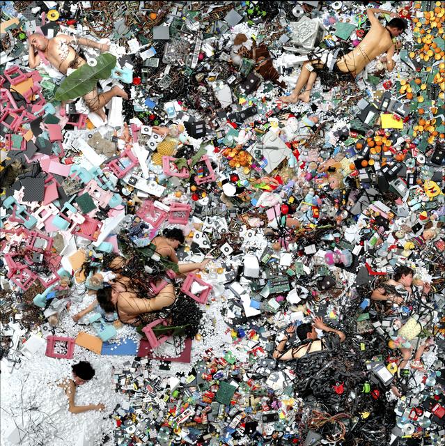 Daniel Canogar, 'Other Geologies 6', 2009, bitforms gallery