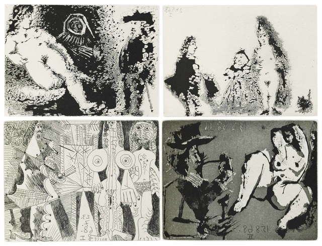 Pablo Picasso, 'Fernando de Rojas: La Célestine', 1971, Christie's