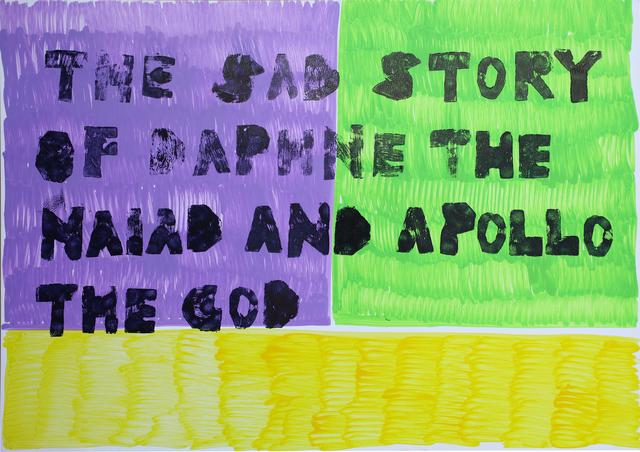 , 'The Sad Story of Daphne the Naiad and Apollo the God,' 2017, Anaid Art