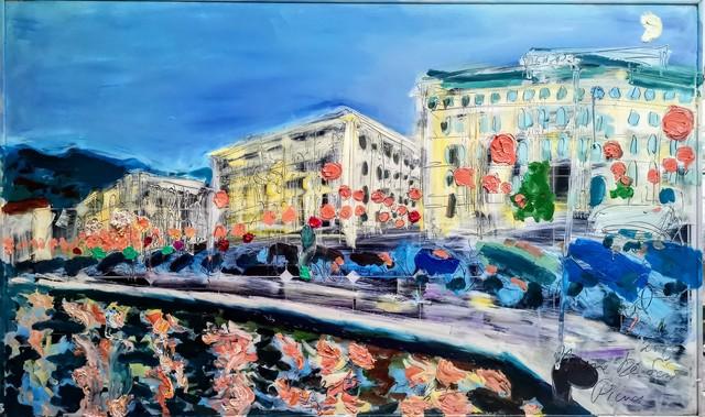 , 'Water paintings summer 2019 - plein air in situ paintings, Trieste Port, evening,' 2019, Noravision Gallery
