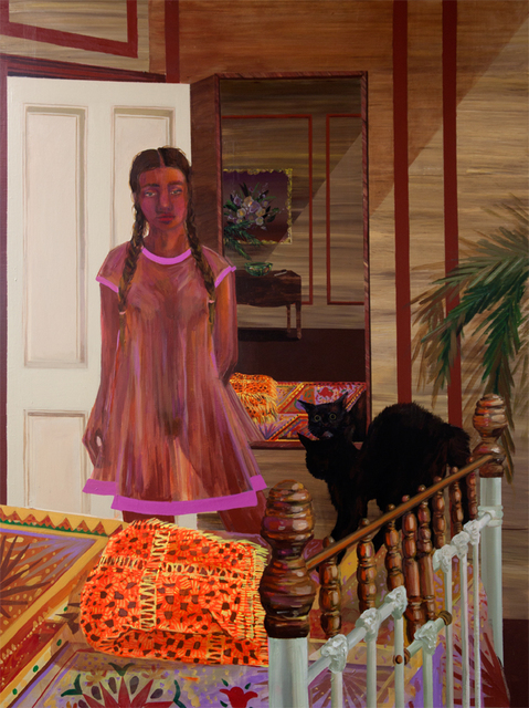 , '​Sleepwalker Scares the Cat,' 2017, HATHAWAY | Contemporary Gallery