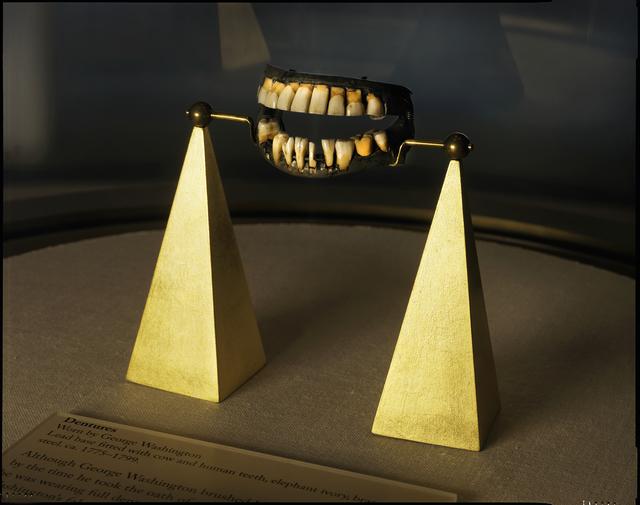 , 'George Washington's dentures, Mount Vernon, Virginia ,' 2016, Lisa Sette Gallery